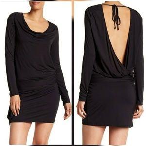 Haute Hippe   NWT Solid Wrap Dress Sz L